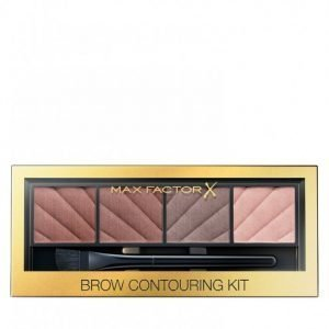 Max Factor Brow Eye Contouring Kit Kulmapaletti Monivärinen