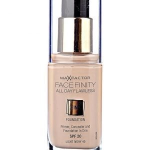 Max Factor Facefinity foundation 040 ivory-meikkivoide