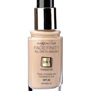 Max Factor Facefinity foundation 50 natural