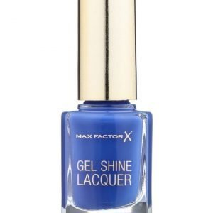 Max Factor Gel Shine Lacquer kynsilakka 40 glazed cobalt