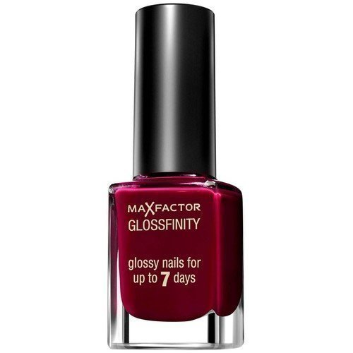 Max Factor Glossfinity Glossy Nails 155 Burgundy Crush