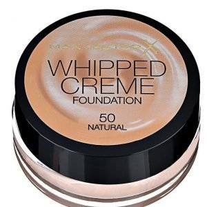 Max Factor Whipped Creme foundation 50 naural
