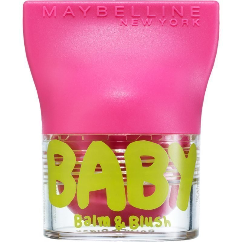 Maybelline Baby Lips Balm & Blush 2 Flirty Pink 4