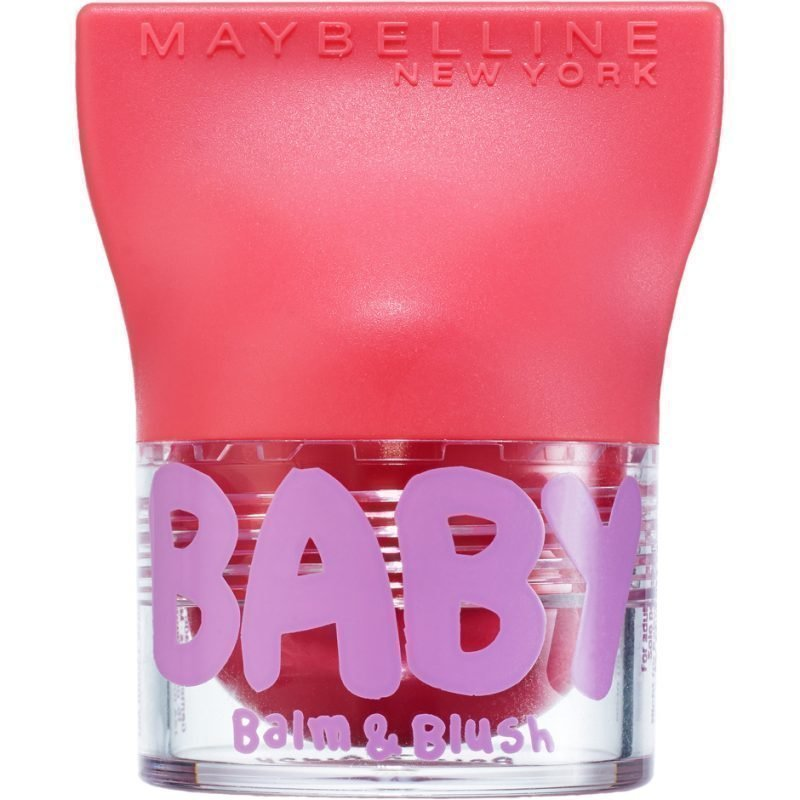 Maybelline Baby Lips Balm & Blush 3 Juicy Rose 4