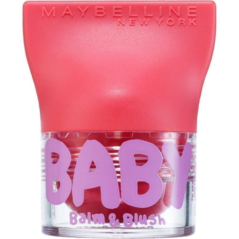 Maybelline Baby Lips Balm & Blush 3 Juicy Rose 4