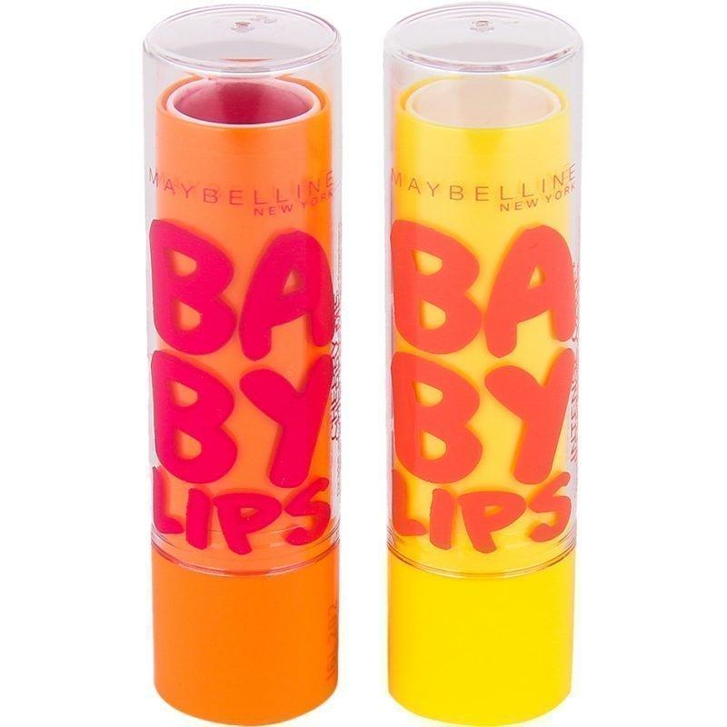 Maybelline Baby Lips Duo Lip Balm x2 4g
