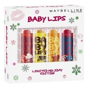 Maybelline Baby Lips Holiday Spice Xmas Box Lahjapakkaus