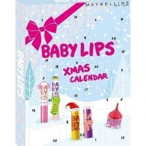 Maybelline Baby Lips Joulukalenteri