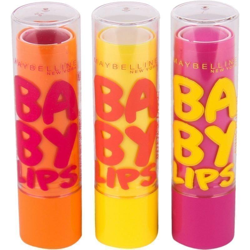 Maybelline Baby Lips Trio Lip Balm x3 4g