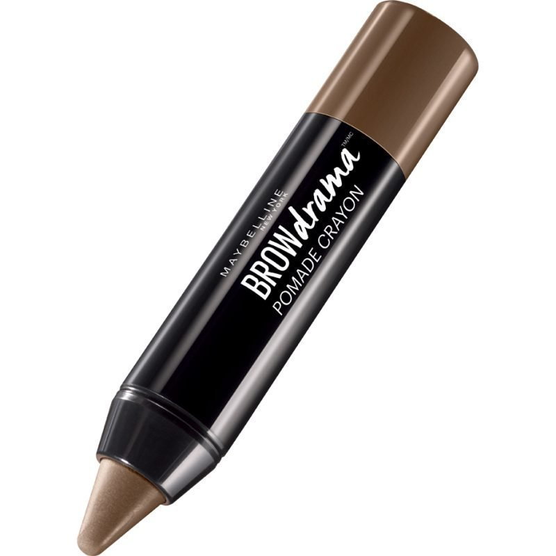 Maybelline Brow Drama Pomade Crayon Medium Brown 1