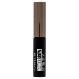 Maybelline Brow Tattoo Longlasting Tint 4.9 Ml Various Shades 25 Ash Brown