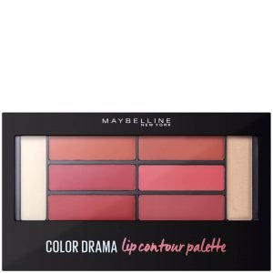 Maybelline Color Drama Lip Contour Palette 4g Blushed Bombshell