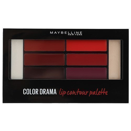 Maybelline Color Drama Lip Contour Palette Crimsom Vixen