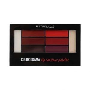 Maybelline Color Drama Lip Contour Palette Huuliväripaletti