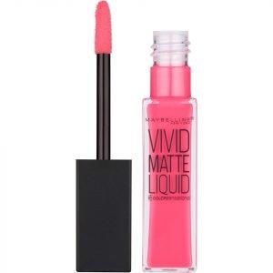 Maybelline Color Sensational Vivid Matte Liquid Lipstick 8 Ml Various Shades 20 Coral Courage