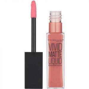 Maybelline Color Sensational Vivid Matte Liquid Lipstick 8 Ml Various Shades 50 Nude Thrill
