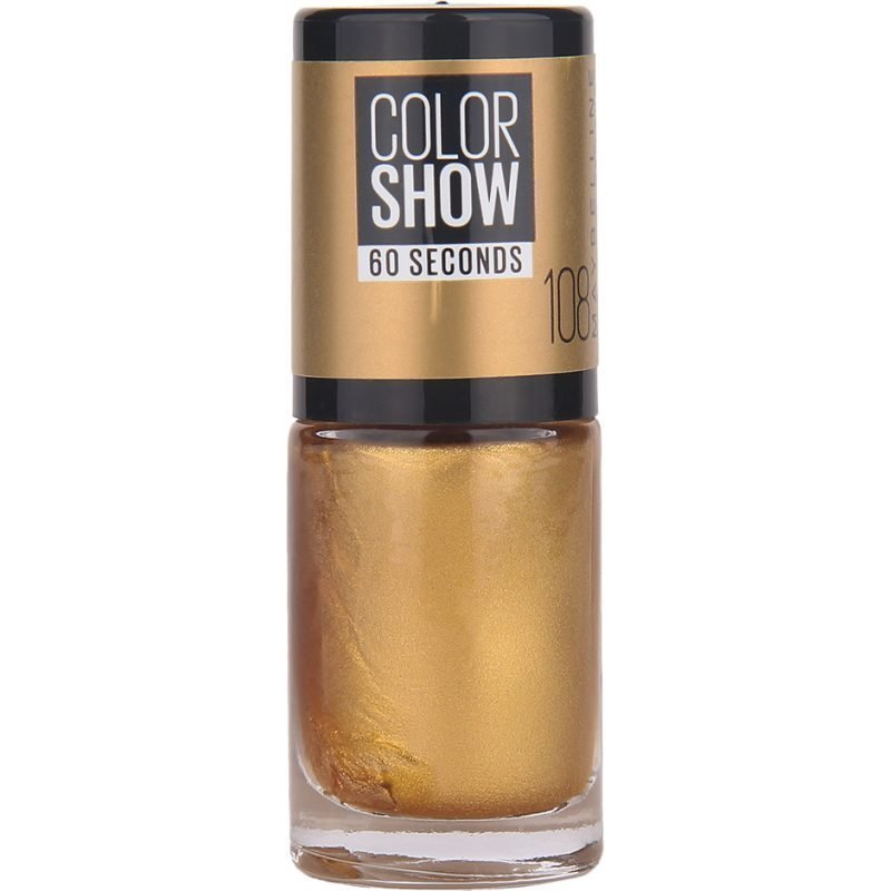 Maybelline Color Show Nail Polish 108 Golden Sand 7ml