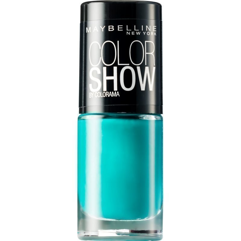 Maybelline Color Show Nail Polish 120 Urban Turquois 7ml