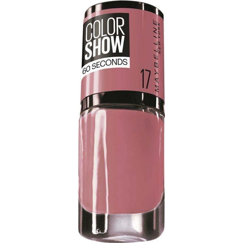 Maybelline Color Show Nail Polish 17 Smokey Rose 7ml