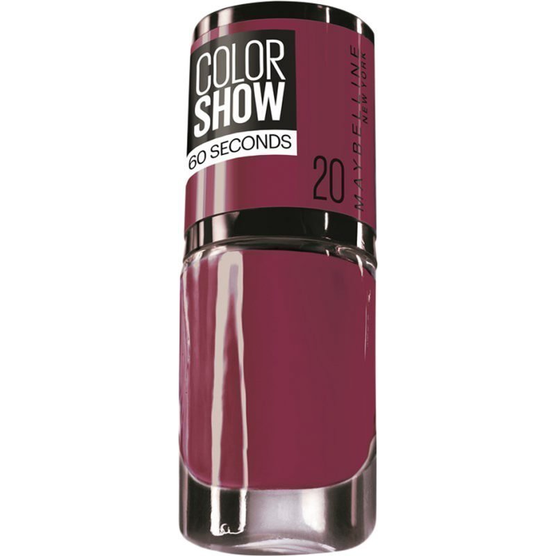 Maybelline Color Show Nail Polish 20 Blush Berry 7ml