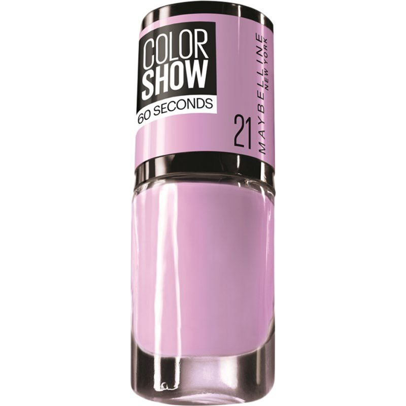 Maybelline Color Show Nail Polish 21 Liliac Wine 7ml