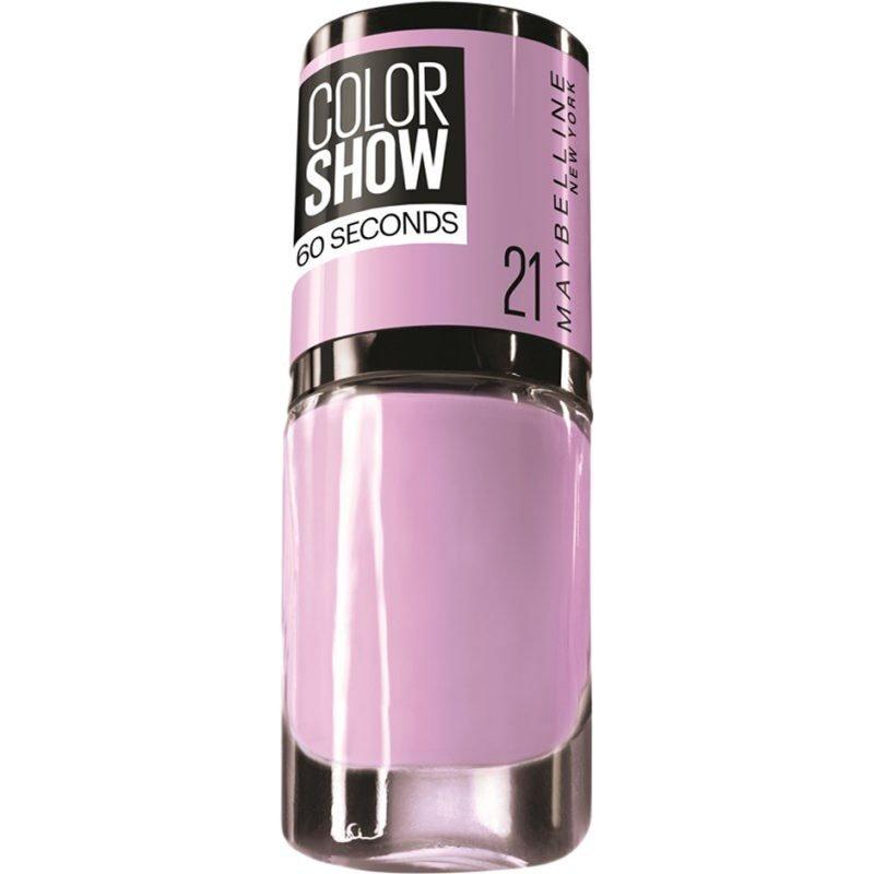 Maybelline Color Show Nail Polish 21 Liliac Wine 7ml