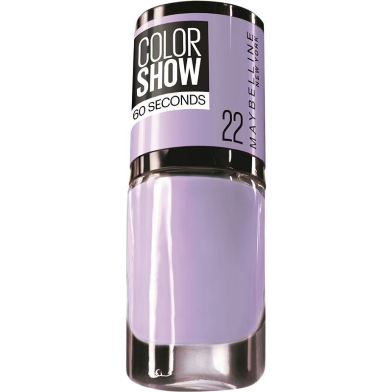 Maybelline Color Show Nail Polish 22 Lavender Love 7ml