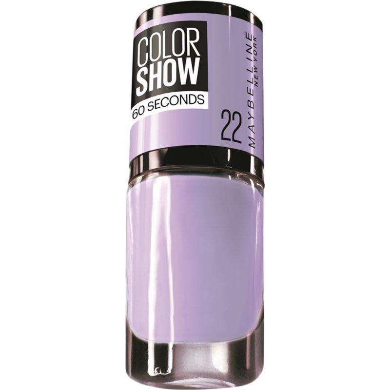 Maybelline Color Show Nail Polish 22 Lavender Love 7ml