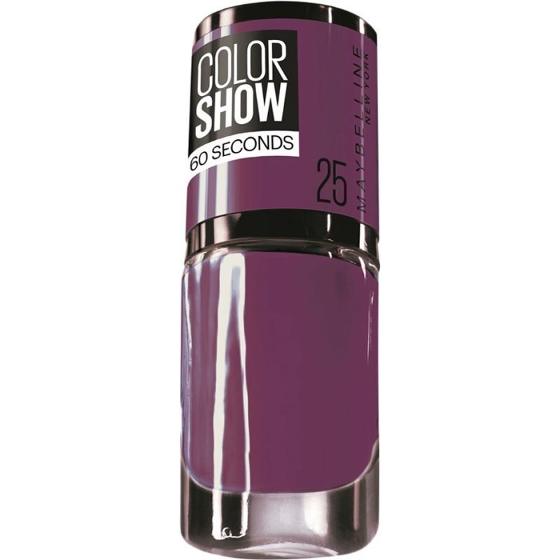 Maybelline Color Show Nail Polish 25 Plump It Up 7ml