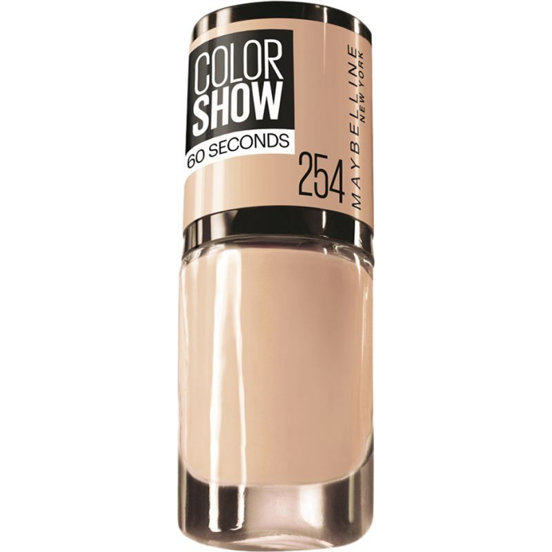 Maybelline Color Show Nail Polish 254 Latte 7ml