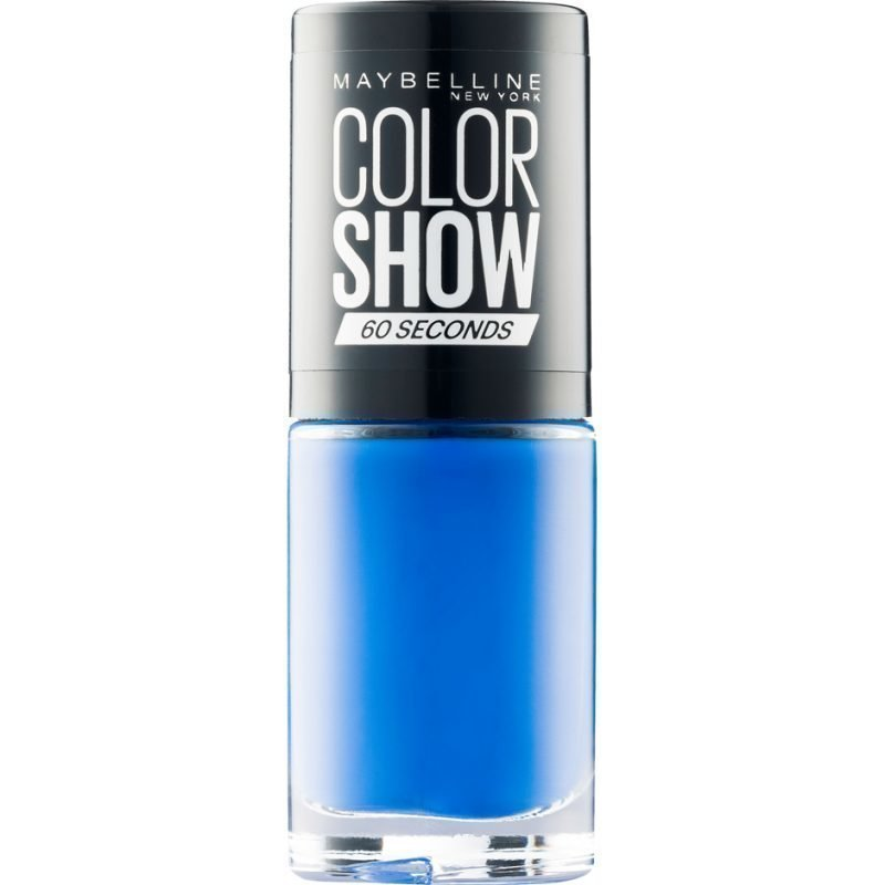 Maybelline Color Show Nail Polish 335 Broadway Blues 7ml