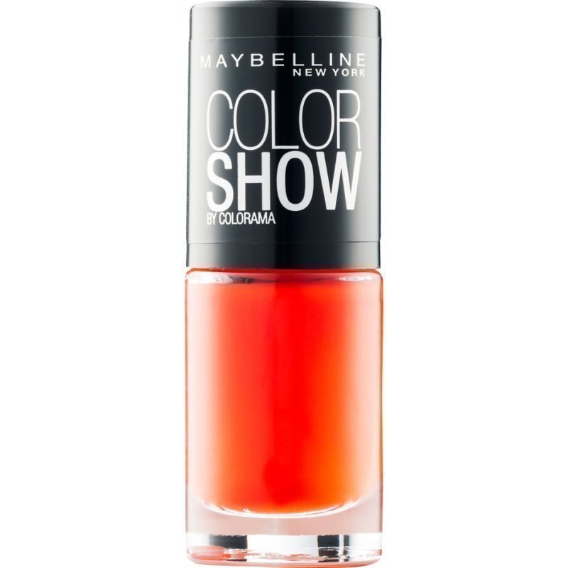 Maybelline Color Show Nail Polish 341 Orange Attack 7ml