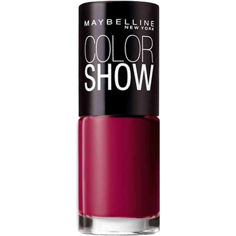 Maybelline Color Show Nail Polish 357 Burgundy Kiss 7ml
