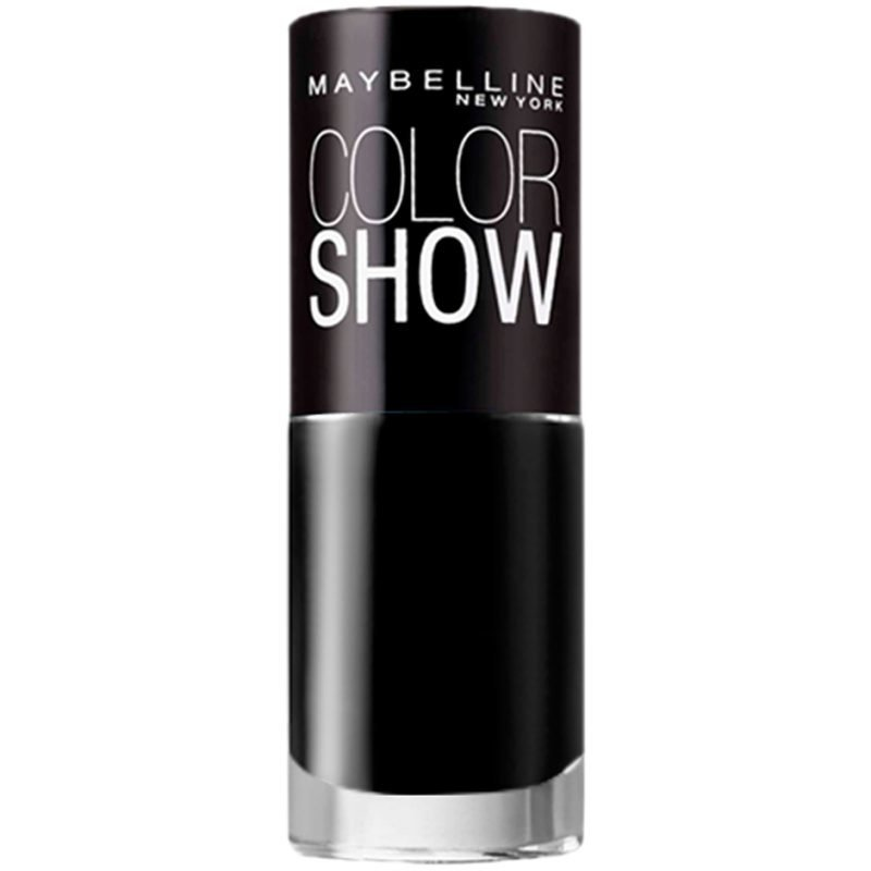 Maybelline Color Show Nail Polish 677 Blackout R 7ml
