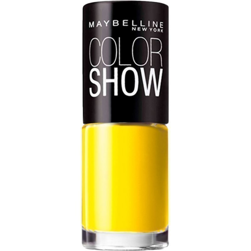 Maybelline Color Show Nail Polish 749 Electric Yellow 7ml