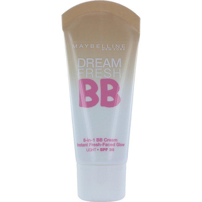 Maybelline Dream Fresh BB Cream Light Skin 30ml