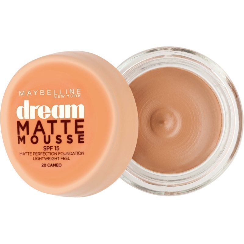 Maybelline Dream Matte Mousse Foundation 20 Cameo