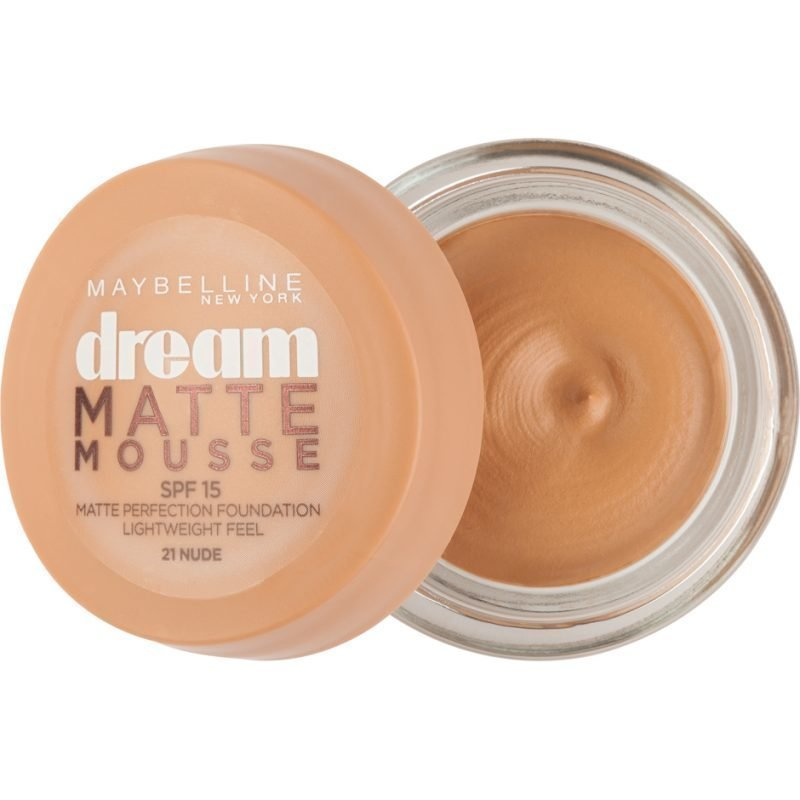 Maybelline Dream Matte Mousse Foundation 21 Nude