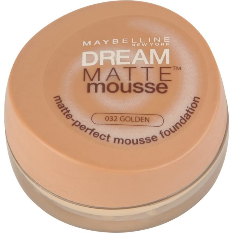 Maybelline Dream Matte Mousse Foundation 32 Golden 18ml
