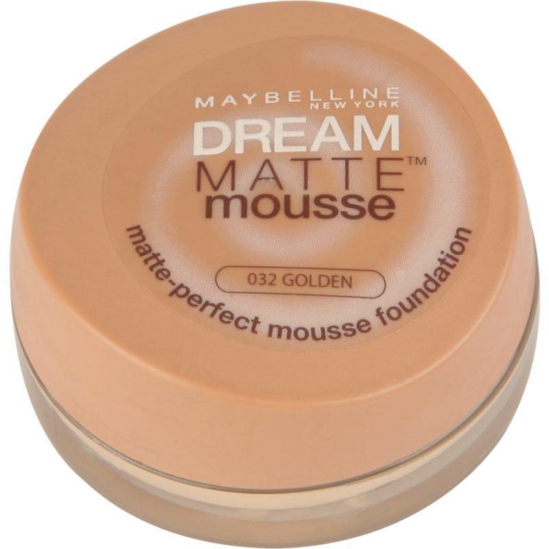 Maybelline Dream Matte Mousse Foundation 32 Golden 18ml