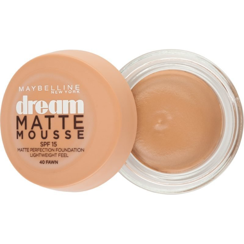 Maybelline Dream Matte Mousse Foundation 40 Fawn
