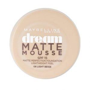 Maybelline Dream Matte Mousse Meikkivoide Light Beige