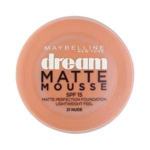 Maybelline Dream Matte Mousse Meikkivoide Nude