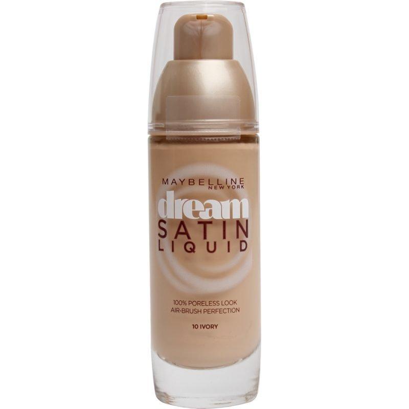 Maybelline Dream Satin Liquid Foundation 10 Ivory