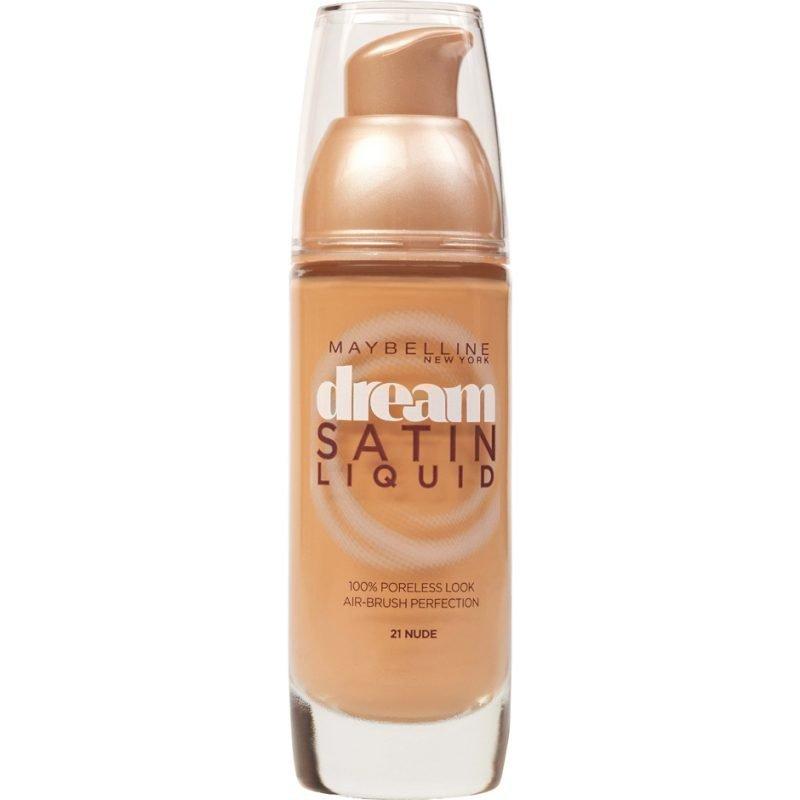 Maybelline Dream Satin Liquid Foundation 21 Nude