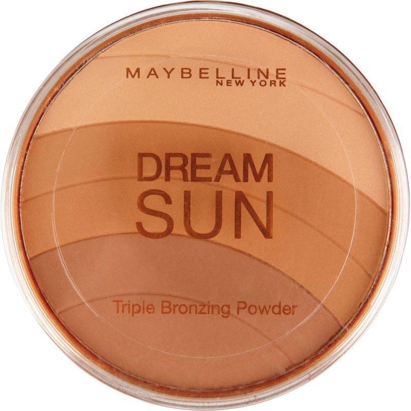 Maybelline Dream Sun Triple Bronzing Powder 02 Brunette 10g