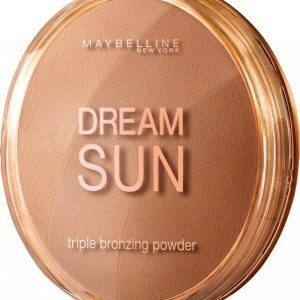 Maybelline Dream Sun Triple Bronzing Powder Aurinkopuuteri