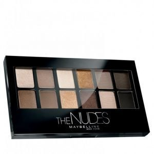 Maybelline Eye Shadow Pallet The Nudes Luomiväri Monivärinen