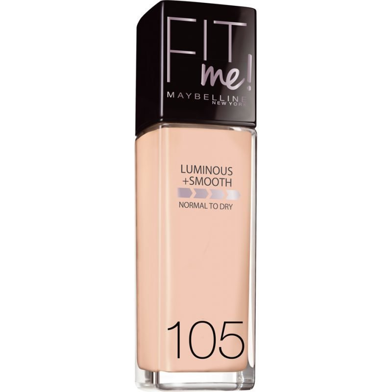 Maybelline Fit Me Foundation 105 Natural Ivory 30ml