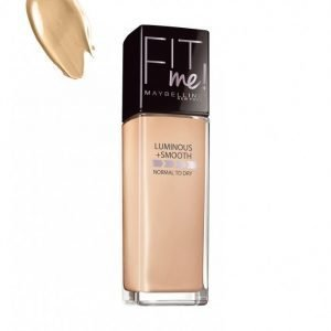 Maybelline Fit Me Foundation Luminous & Smooth Meikkivoide Medium Buff